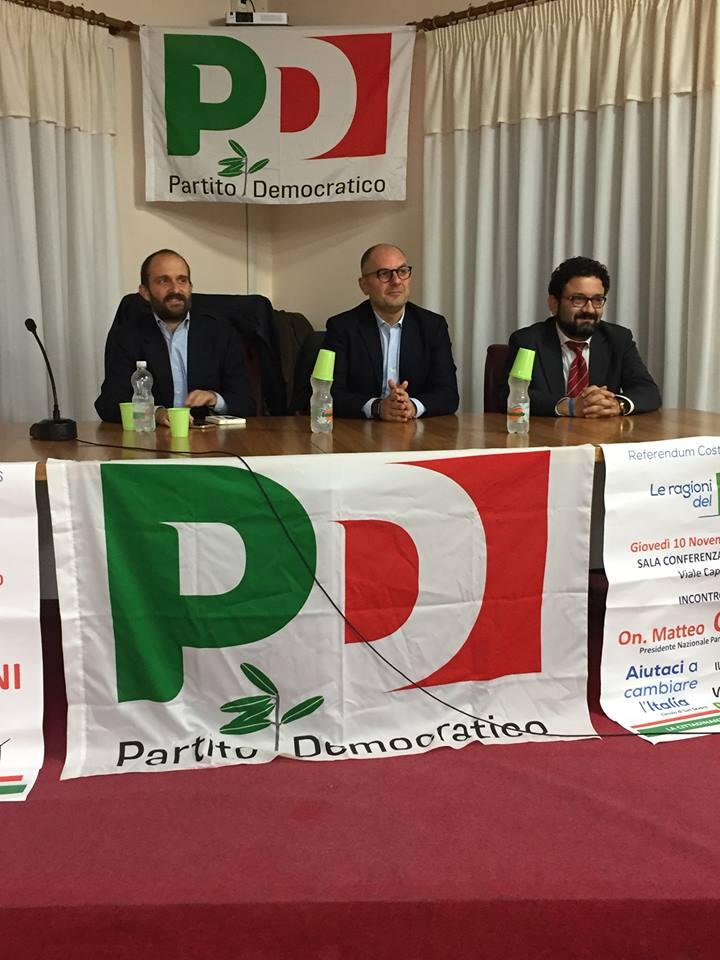 Versoilreferendum si svolto il dibattito con orfini for Numero parlamentari pd