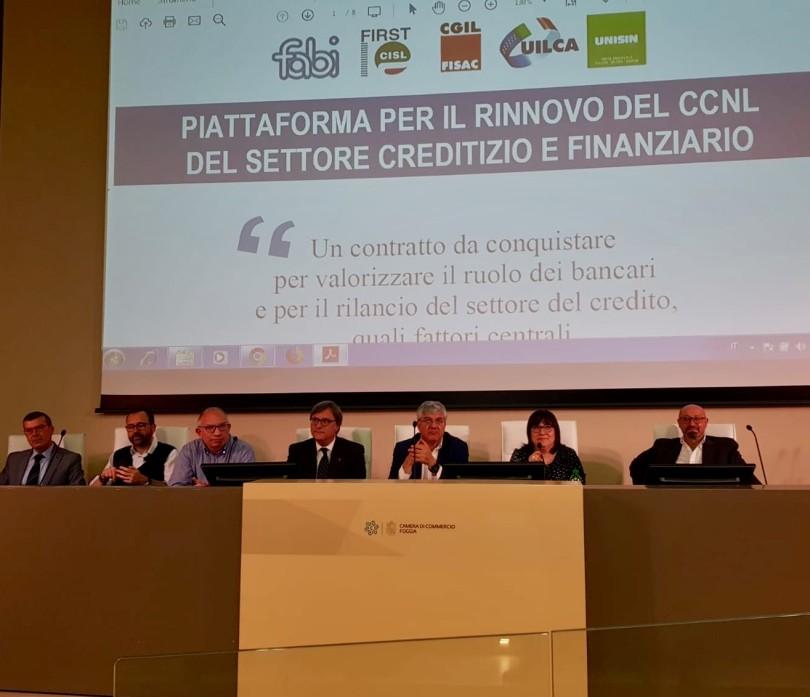 20190523 Assemblea dei bancari della provincia di Foggia