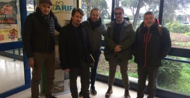 Abbaticchio, Carlucci, Depalma + tecnici presso Arif