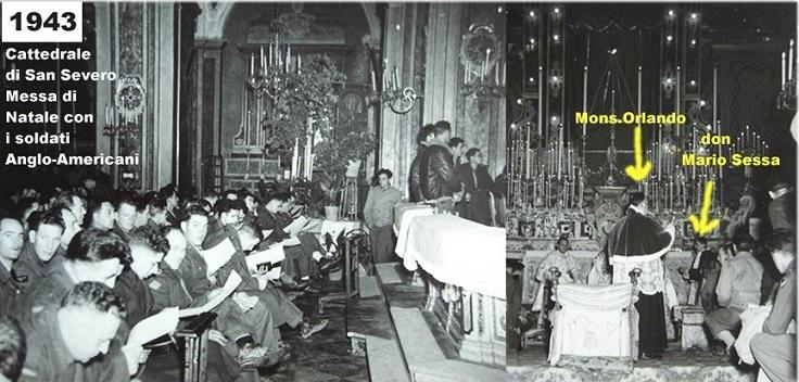 FOTO MESSA NATALE 1943
