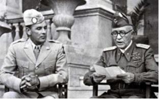 FOTO STORICA DUE LEADERS