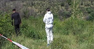 FOTO _ Cadavere di donna in agro di Apricena_ le indagini dei carabinieri 2