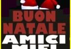 LOGO BUON NATALE AMICI MIEI