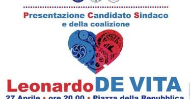 Leonardo De Vita Torremaggiore incontro P.zza della Repubblica 26-04-2019 ore 20