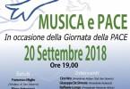 Locandina Concerto per la Pace