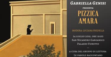 Locandina Incontro con Gabriella Genisi