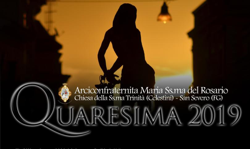 Manifesto Quaresima 2019