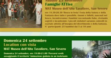 SAC TratturArte - eventi settembre 2017