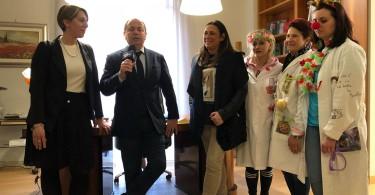 Tito Salatto con Iolanda Figurella e Rosangela Longo