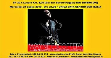 Wayne Escoffery - REPUBBLICA - 24 luglio 2019