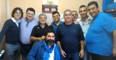 congresso ugl igiene amb 1 - da sx Bucci Favoccia Taranto