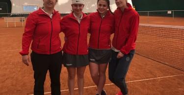 da sinistra Damiani - De Faritiis - Fabiano - Lavrikova