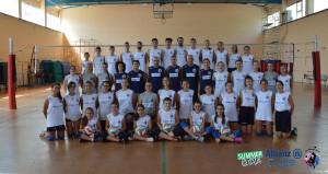 foto di gruppo Intrepida Volley