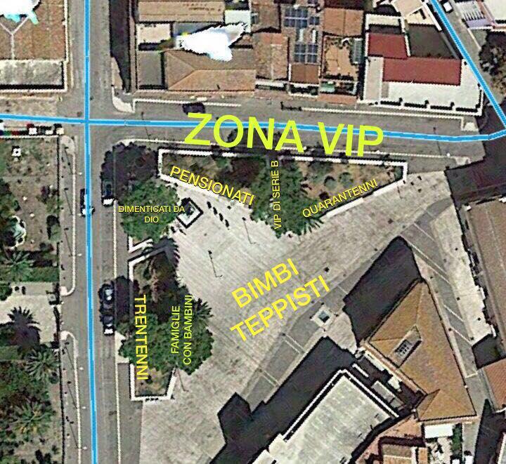 """b0d88920a6 Piazza Allegato, da """"salotto"""" della città a """"stadio"""". La mappatura ..."""