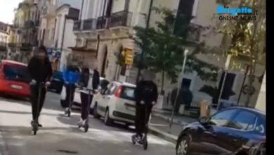 Photo of San Severo: Dribbling sul monopattino in mezzo al traffico e in controsenso