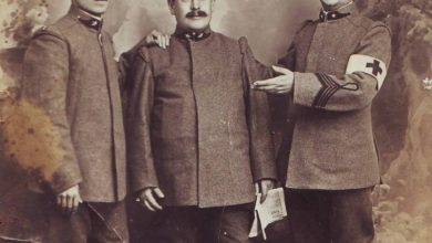 Photo of Don Canelli in guerra come cappellano militare