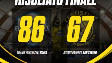 Photo of Basket: debacle della Cestistica a Roma, vince l'Atlante 86-67