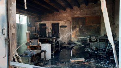 Photo of San Severo: incendio all'Art Village, ingenti danni