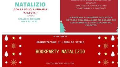 Photo of OGGI Il  NUOVISSIMO  BOOKPARTY,  PER  UN  NATALE  A  RITMO  DI  LIBRI A SAN SEVERO