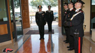 """Photo of FOGGIA:IL GENERALE DI CORPO D'ARMATA VITTORIO TOMASONE, COMANDANTE DEL COMANDO INTERREGIONALE CARABINIERI """"OGADEN"""", IN VISITA AL COMANDO PROVINCIALE."""