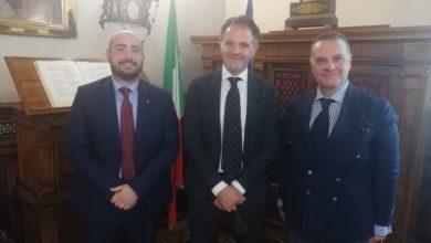 Photo of Incontro dei sindaci Miglio e Pitta a Roma ministero della Giustizia con il capo di gabinetto Raffaele Piccirillo