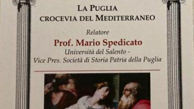 """Photo of """"La Puglia crocevia del Mediterraneo"""" a Torremaggiore il 19 ottobre"""