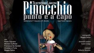 """Photo of TORREMAGGIORE: """"Pinocchio punto e a capo"""" al Teatro Rossi"""