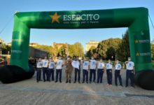 """Photo of L'Esercito Italiano in corsa per la ricerca a supporto della Onlus """"Città della Speranza""""."""