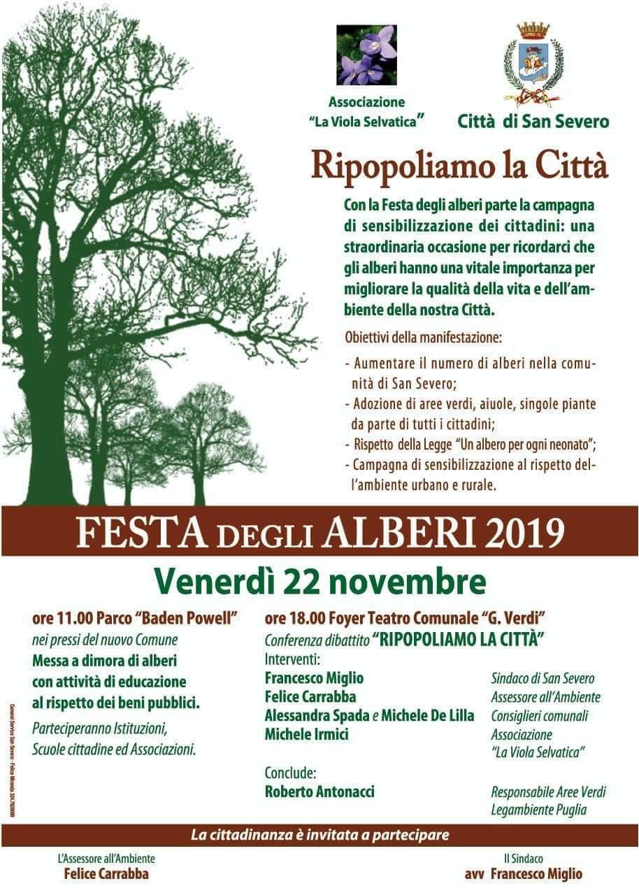 """Albero Di Lillà michele de lilla: """"partecipiamo alla festa degli alberi per"""