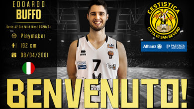 Photo of BASKET: A SAN SEVERO UN UNDER DI PERSONALITÀ: EDOARDO BUFFO!