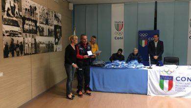 """Photo of Premio """"società giovanile emergente su pista"""" all'ASD Running Club Torremaggiore"""