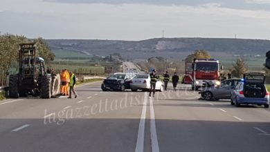 Photo of Manfredonia: Incidente stradale conducente di un trattore scappa