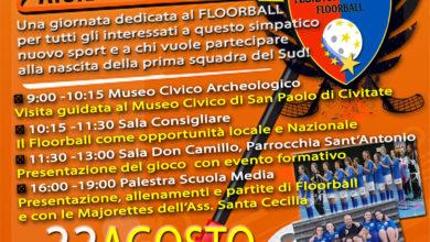 Photo of OPEN DAY FLOORBALL A SAN PAOLO DI CIVITATE LA PRIMA SQUADRA DEL SUD ITALIA