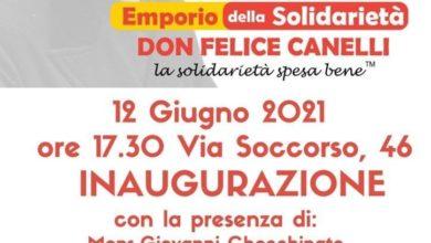 """Photo of Nasce a San Severo l'emporio della Solidarietà """"Don Felice Canelli"""""""