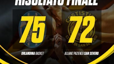 Photo of Basket: l'Allianz San Severo si fa rimontare nel finale a Capo d'Orlando, vincono i siciliani 75-72