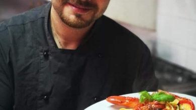 Photo of Lo chef Marco Popolo al ristorante e Pizzeria Tenuta Santa Giusta!