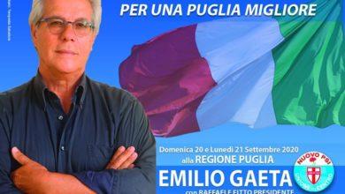 Photo of EMILIO GAETA CANDIDATO ALLE REGIONALI CON NUOVO PSI- UNIONE DI CENTRO