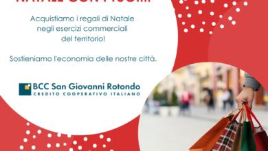 """Photo of BCC di San Giovanni Rotondo: """"Natale con i tuoi"""": la campagna di sensibilizzazione  per sostenere l'economia locale"""