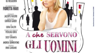 "Photo of AL TEATRO VERDI LA COMMEDIA CON NANCY BRILLI ""A CHE SERVONO GLI UOMINI"""
