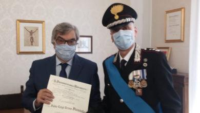 Photo of Il sanseverese Fabio Ficuciello colonnello dell'Arma dei Carabinieri, insignito del titolo di Cavaliere della Repubblica Italiana