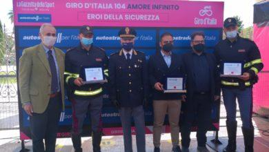"""Photo of POLIZIA STRADALE E AUTOSTRADE PER L'ITALIA: INSIEME AL GIRO D'ITALIA PER LA DECIMA EDIZIONE DEGLI """"EROI DELLA SICUREZZA"""""""