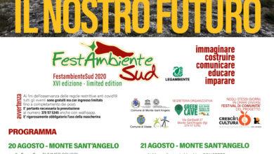 Photo of Al via il 20 agosto a Monte Sant'Angelo la XVI edizione di FestambienteSud