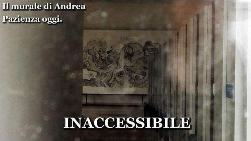 Photo of Il murale di Andrea Pazienza 'lotta di guerrieri e animali' Reso inaccessibile alla mostra d'Oltremare a Napoli