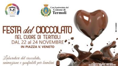 Photo of La città di Termoli ospita la Festa del Cioccolato dal 22 al 24 novembre
