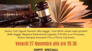 Photo of Giustizia e Diritti Umani: webinar informativo gratuito
