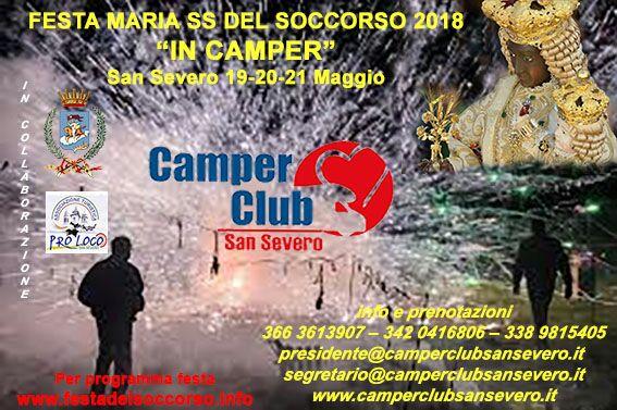 Photo of FESTA DEL SOCCORSO IN CAMPER a cura del CAMPER CLUB SAN SEVERO