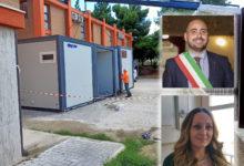 """Photo of Lucera: Iniziati i lavori di installazione di strutture modulari presso la scuola """"Manzoni"""" di Lucera"""
