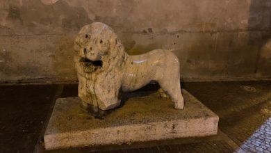Photo of Ascoli Satriano: danneggiato il leone romano collocato nei pressi della Concattedrale