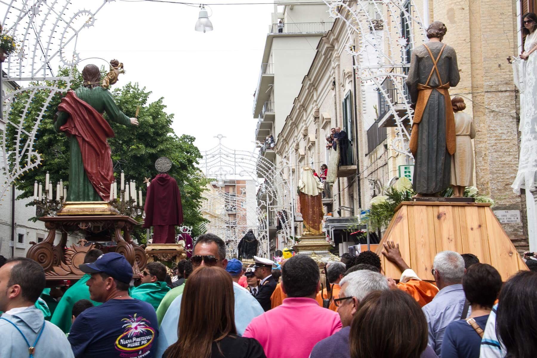 Photo of Festa del Soccorso, 20 simulacri di Santi parteciperanno alla processione di Domenica 21 maggio