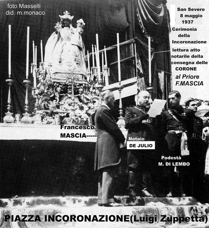 Photo of 1937, LE CORONE DI MAGGIO E LA PIAZZA